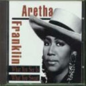 Album  Cover Aretha Franklin - What You See Is What You Sweat on ARISTA Records from 1991