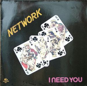 Album  Cover Network - I Need You on RAMS HORN Records from 1984