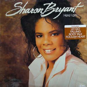 Album  Cover Sharon Bryant - Here I Am on WING Records from 1989