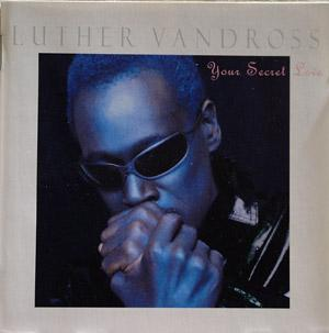 Album  Cover Luther Vandross - Your Secret Love on EPIC Records from 1996