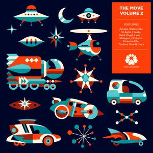Front Cover Album Various Artists - Tokyo Dawn Records The Move Volume 2