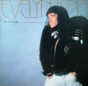 Album  Cover Evelyn 'champagne' King - I'm In Love on RCA Records from 1981