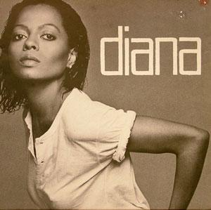 Album  Cover Diana Ross - Diana on MOTOWN Records from 1980
