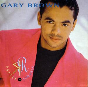 Album  Cover Gary Brown - Rhythm Or Romance on CAPITOL Records from 1992