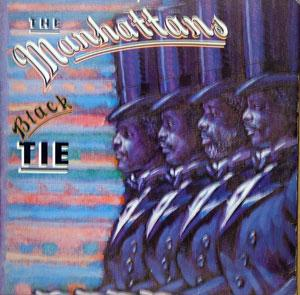 Album  Cover The Manhattans - Black Tie on COLUMBIA Records from 1981