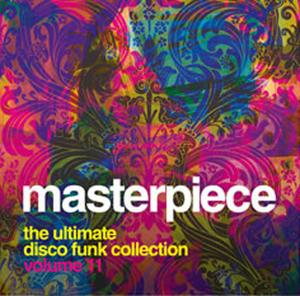 Front Cover Album Various Artists - Masterpiece Vol. 11 - The Ultimate Disco Funk Collection