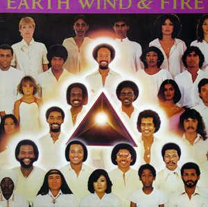 Front Cover Album Wind & Fire Earth - Faces