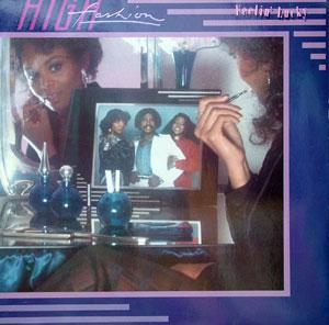Album  Cover High Fashion - Feelin' Lucky on CAPITOL Records from 1982