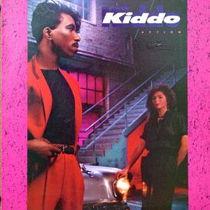 Album  Cover Kiddo - Action on A&M Records from 1984
