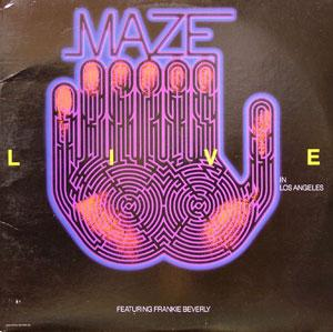 Album  Cover Maze - Live In Los Angeles on MERCURY Records from 1986