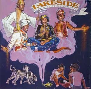Album  Cover Lakeside - Your Wish Is My Command on SOLAR Records from 1982