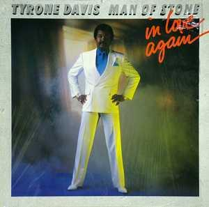 Album  Cover Tyrone Davis - Man Of Stone on TIMELESS Records from 1987