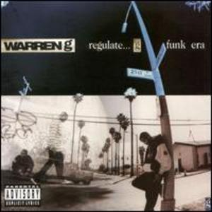 Album  Cover Warren G - Regulate G Funk Era on DEF JAM Records from 1994