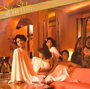 Album  Cover Sister Sledge - We Are Family on COTILLION Records from 1979