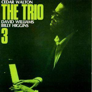 Album  Cover Cedar Walton - The Trio, Vol. 3 on RED Records from 1985