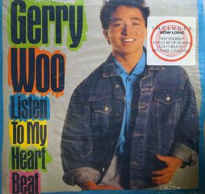 Front Cover Album Gerry Woo - Listen To Your Heartbeat