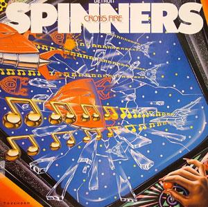 Album  Cover The Spinners - Cross Fire on ATLANTIC Records from 1984