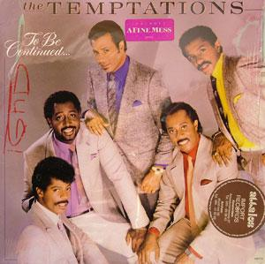 Front Cover Album The Temptations - To Be Continued