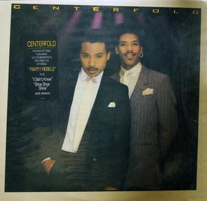 Album  Cover Centerfold - Centerfold on COLUMBIA Records from 1988