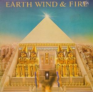 Album  Cover Earth Wind & Fire - All 'n All on CBS Records from 1977