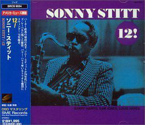 Album  Cover Sonny Stitt - 12! on 32 JAZZ Records from 1972