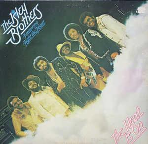 Front Cover Album The Isley Brothers - The Heat Is On