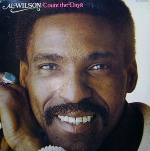 Front Cover Album Al Wilson - Count The Days