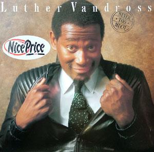 Album  Cover Luther Vandross - Never Too Much on EPIC Records from 1981