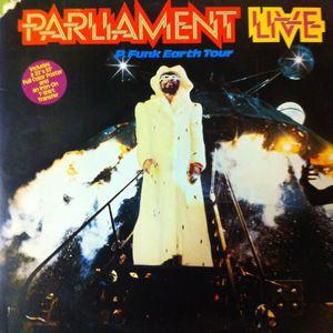 Album  Cover Parliament - Parliament Live - P Funk Earth Tour on CASABLANCA Records from 1977