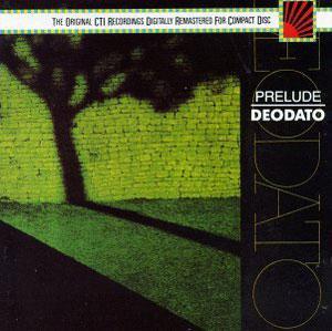 Album  Cover Deodato (eumir) - Prelude on CTI Records from 1973