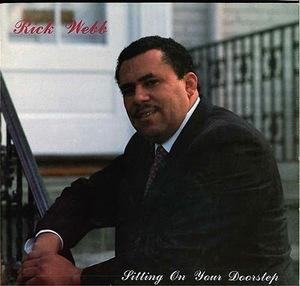 Front Cover Album Rick Webb - Sitting On Your Doorstep
