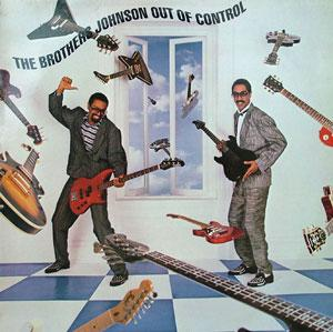 Album  Cover The Brothers Johnson - Out Of Control on SOLAR Records from 1984