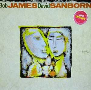 Album  Cover Bob James - Double Vision With David Sanborn on WARNER BROS. Records from 1986