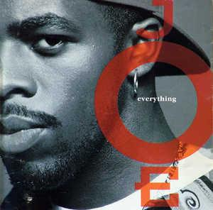Album  Cover Joe - Everything on JIVE Records from 1993