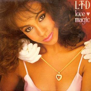 Album  Cover L.t.d. - Love Magic on A&M Records from 1981