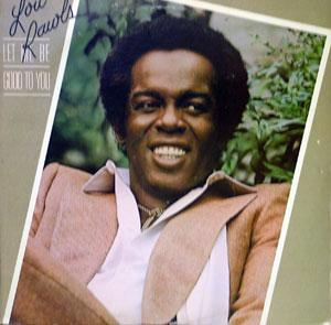 Album  Cover Lou Rawls - Let Me Be Good To You on PHILADELPHIA INTERNATIONAL Records from 1980