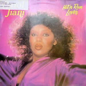 Album  Cover Carol Jiani - Hit'n Run Lover on MATRA Records from 1981