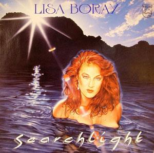 Album  Cover Lisa Boray - Searchlight on PHILIPS Records from 1983