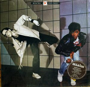 Album  Cover The System - X-periment on MIRAGE Records from 1984