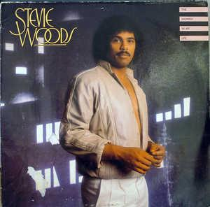 Album  Cover Stevie Woods - The Woman In My Life on COTILLION Records from 1982