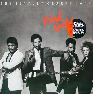 Front Cover Album Stanley Clarke - Find Out!