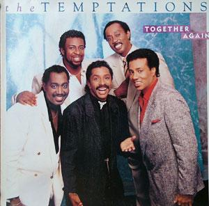 Album  Cover The Temptations - Together Again on MOTOWN Records from 1987
