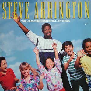 Album  Cover Steve Arrington - The Jammin' National Anthem on ATLANTIC Records from 1986