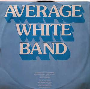Album  Cover Average White Band - Feel No Fret on RCA Records from 1979