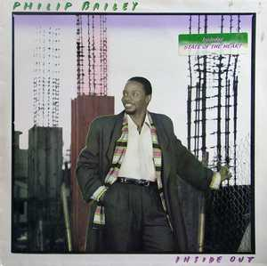 Album  Cover Philip Bailey - Inside Out on COLUMBIA (CBS) Records from 1986