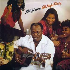 Album  Cover L.v. Johnson - All Night Party on SUNNYVIEW Records from 1986