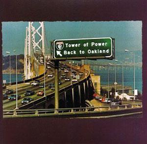 Front Cover Album Tower Of Power - Back To Oakland