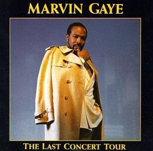 Album  Cover Marvin Gaye - The Last Concert Tour on GIANT Records from 1991