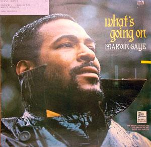 Album  Cover Marvin Gaye - What's Going On on ARISTA Records from 1971