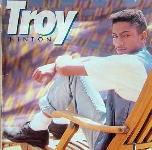 Album  Cover Troy Hinton - Troy Hinton on MCA Records from 1989